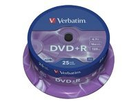 Verbatim 16x DVD+R 4,7GB 25-pack
