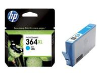 HP Ink no. 364XL Cyan CB323EE 750 sider