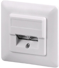 Cat 6 wall plate flush mount 2xRJ45