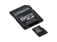 Kingston microSDHC Card 4GB, Class4, SDHC, Class 4