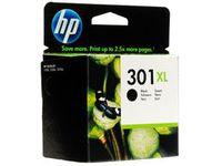 HP Blekkpatron 301 Sort XL CH563EE
