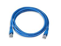 F/UTP CAT5e 1m Blue PVC